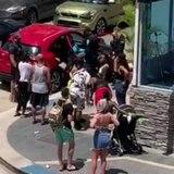 Queda en libertad mujer por altercado con turistas