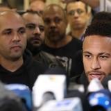 Neymar declara ante la Policía brasileña por caso de violación