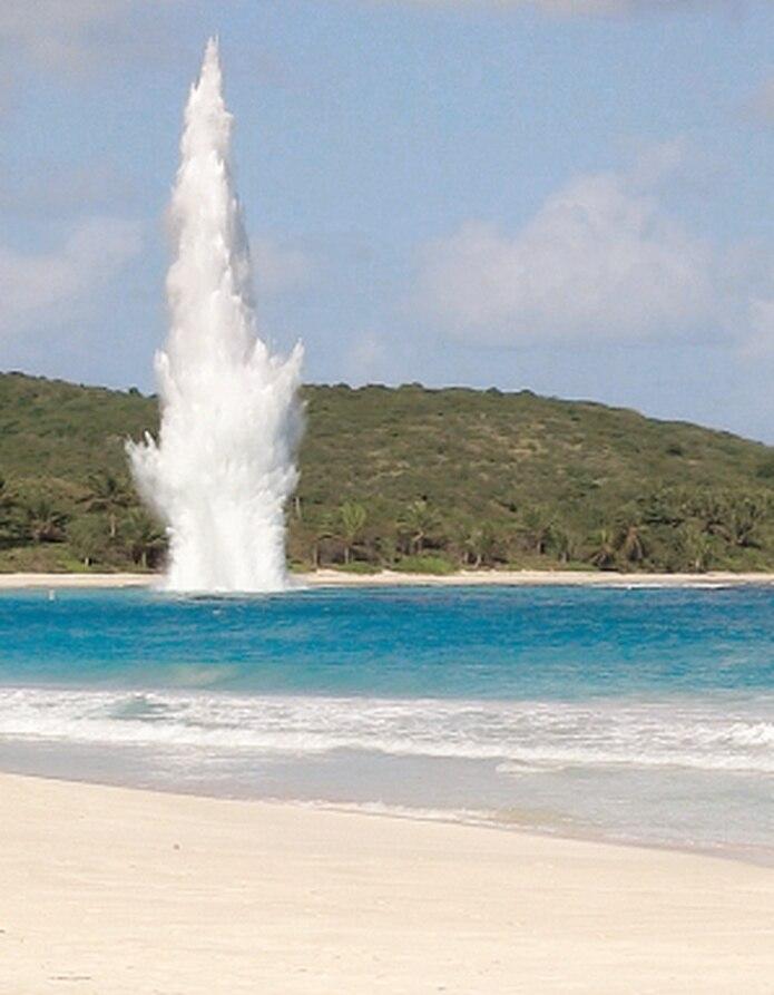 En algunos casos, los explosivos encontrados son detonados de manera segura. (Archivo)