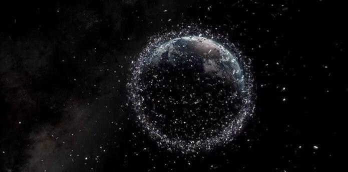 Se cree que más de 750,000 fragmentos mayores a un centímetro ya orbitan el planeta. (ESA / ID&Sense / ONiRiXEL, CC BY-SA 3.0 IGO)