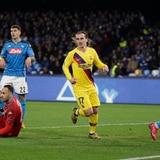 Gol de Griezmann permite al Barcelona salir vivo de San Paolo
