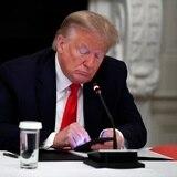 Donald Trump es el único expresidente vivo que se ausenta del homenaje a las víctimas del 11 de septiembre