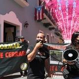 Manifestantes exigen el cierre del Zoológico de Mayagüez