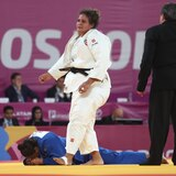 La judoca Melissa Mojica cae en el Masters de Doha