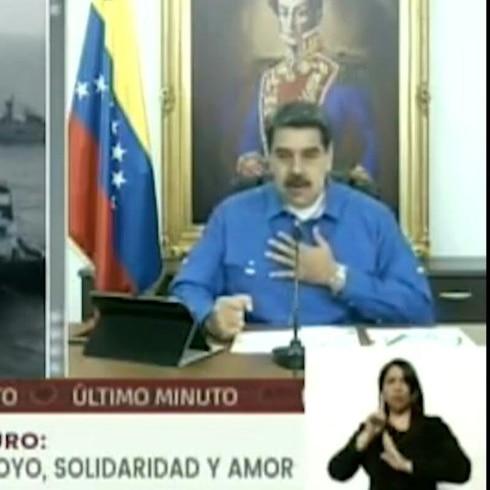 "Maduro a Trump: ""¡No nos vamos a arrodillar!"""