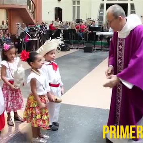 Misa de Aguinaldo en la Parroquia María Auxiliadora en Cantera