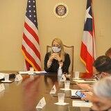 EN VIVO: Gobernadora y coordinador de Casa Blanca participan de conversatorio