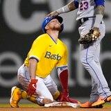 El uniforme amarillo tiene a los Red Sox con seis triunfos en fila