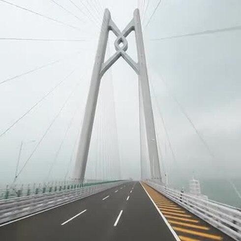 Espectacular: mira este recorrido en el puente marítimo más grande del mundo