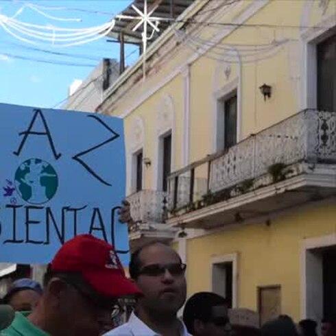 Llevan a Fortaleza reclamo contra depósito de cenizas en Peñuelas