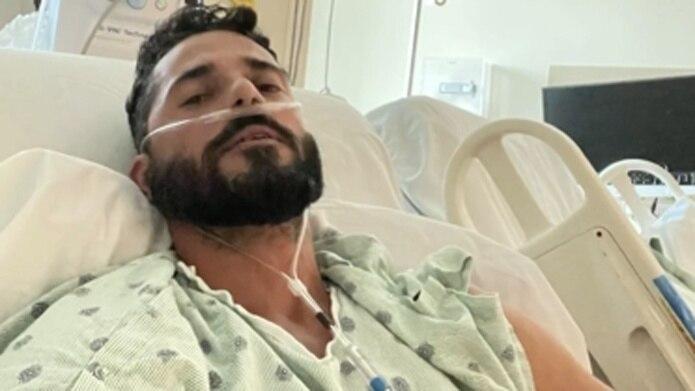 El actor Jorge Alberti estuvo hospitalizado 15 días con COVID-19.