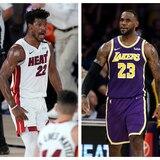 Favoritos los Lakers y el Heat para avanzar a las finales de la NBA