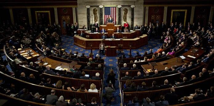 El informe estima que los demócratas tendrían que ganar la votación popular a nivel de distritos electorales por un margen de 11 puntos para conquistar las dos docenas de bancas que necesitan para arrebatar el control de la Cámara de Representantes a los republicanos.  (Archivo)