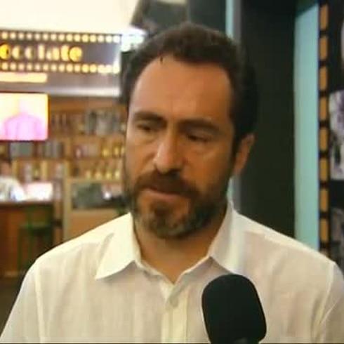 Actor mexicano Demián Bichir presenta su filmografía familiar en La Habana
