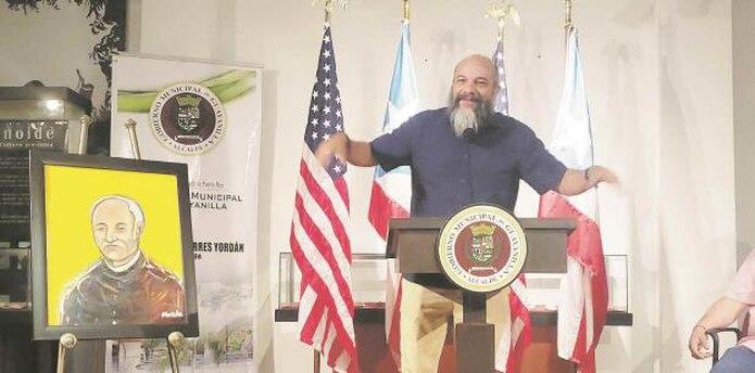 Según el arqueólogo, Reniel Rodríguez, el Padre Nazario planteaba que las piedras tenían que ver con las tribus perdidas de Israel y que era un planteamiento que en Puerto Rico era revolucionario. (Para Suroeste /Sandra Torres)