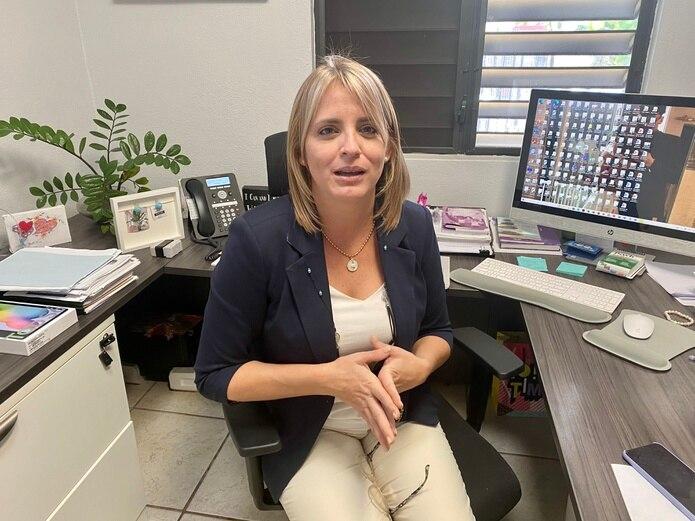 Lisdel Flores, directora ejecutiva del albergue para mujeres víctimas de violencia Hogar Ruth.