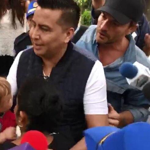 Le arrebatan el hijo a Julián Gil