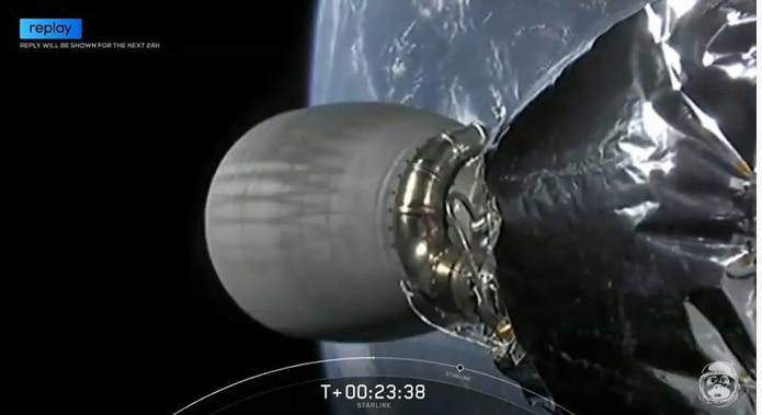 Con estos 58 nuevos satélites, SpaceX tiene ya 540 en el espacio, desde que empezó a lanzarlos en mayo de 2019.