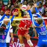 Las Criollas mostraron su dominio al derrotar a San Juan en tres sets