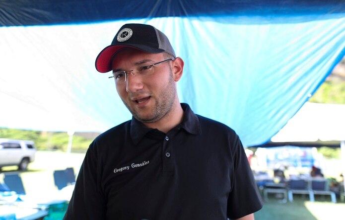El alcalde de Peñuelas, Gregory Gonsález.