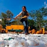 Limpian uno de los ríos más contaminados de México con cascarones de huevo