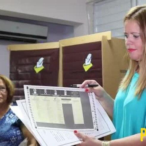 Alcaldes de Canóvanas, Río Grande y Loíza salen a votar
