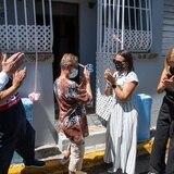 Junte de voluntades reconstruye dos casas en La Perla