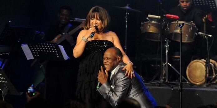 """Milly Quezada y Johnny Ventura compartieron tan recientemente como el lunes pasado en la versión dominicana de """"The Voice""""."""