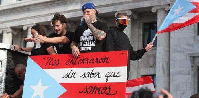 En Puerto Rico, el pueblo triunfó al lograr sacar del gobierno a Rosselló Nevares. Se trató de la primera renuncia que ocurre en el cargo de gobernador. (Archivo)