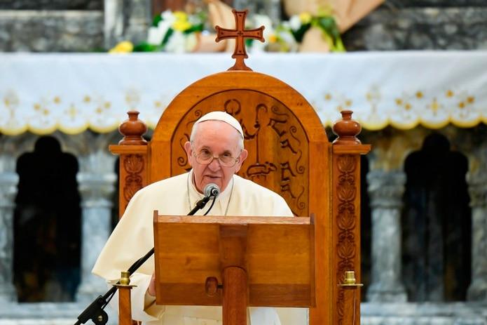 El papa Francisco tiene 84 años.