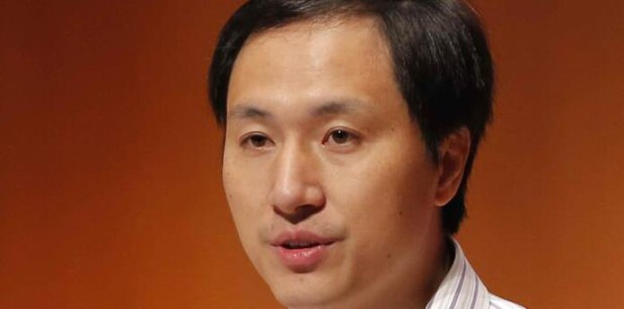 En noviembre de 2018, He Jiankui sorprendió a la comunidad internacional al afirmar que había conseguido crear a las primeras gemelas manipuladas genéticamente para resistir al VIH, lo que acarreó numerosas críticas. (AP)