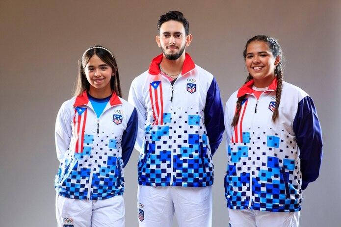 El clan Díaz-Afanador tiene tres atletas clasificados a Tokio, Melanie Díaz, su hermana Adriana y el primo hermano de éstas, Brian Afanador.