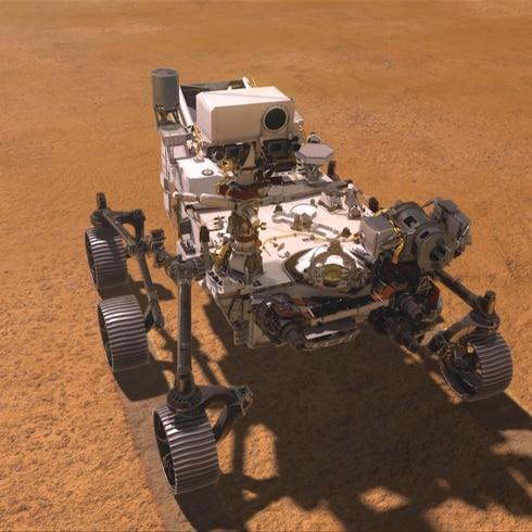 Perseverance: impresionante robot rumbo a Marte