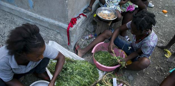 En los últimos dos años, la moneda de Haití, el gourde, cayó un 60% frente al dólar estadounidense y la inflación alcanzó recientemente el 20%, dijo Chalmers. (AP)