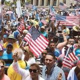 """Convocan a la """"Revolución Estadista"""" por la anexión a Estados Unidos"""