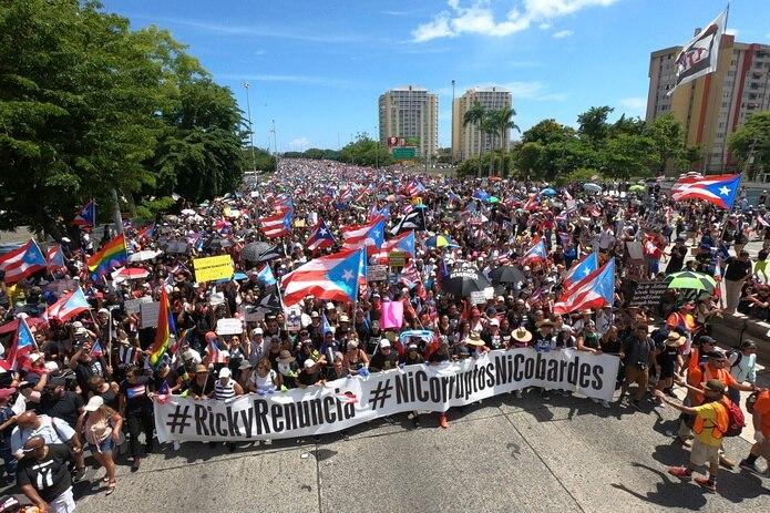 Este mes se cumple un año del llamado enérgico del pueblo para exigir la salida de Ricardo Rosselló de la gobernación luego de conocerse el contenido del chat.
