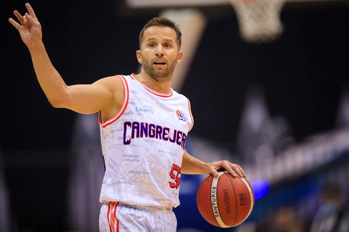 José Juan Barea juega para los Cangrejeros de Santurce en el Baloncesto Superior Nacional, aunque al momento se encuentra inactivo por una lesión.