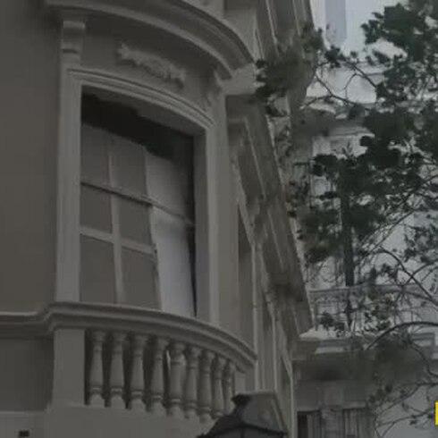 Recorrido muestra los daños en el Viejo San Juan