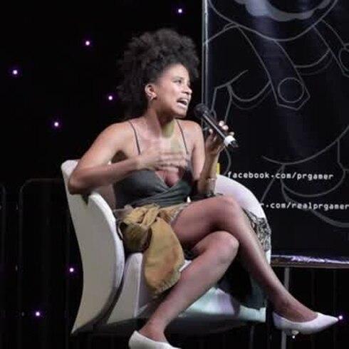 Zazzie Beetz deslumbra el Puerto Rico Comic Con