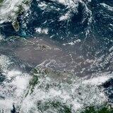 """Nube de polvo Godzilla"" cubre al Caribe"