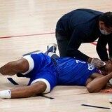 Kawhi Leonard sale golpeado, pero los Clippers de Los Ángeles superan a los Nuggets de Denver