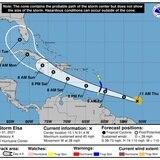 Guardia Costera establece alerta X-Ray por tormenta tropical Elsa