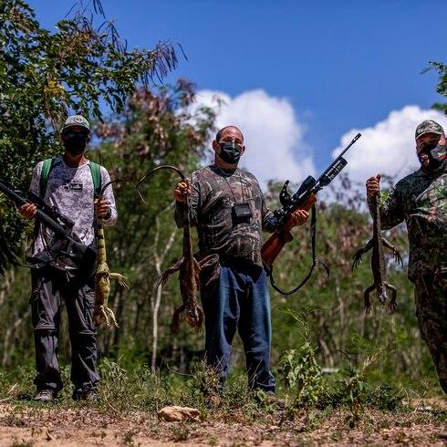 Al servicio de la agricultura Los Iguaneros de Aguada