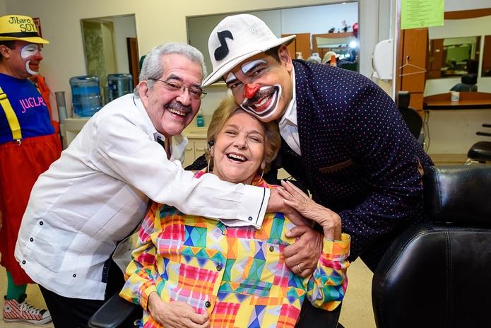 Zaiter compartiendo con Luis Antonio Cosme y Remi. (suministrada)