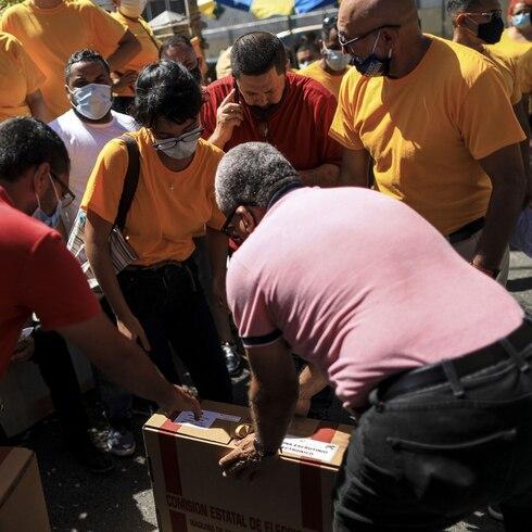 Así fue el desmadre de las primarias en Puerto Rico