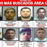 Los 10 más buscados en el área policíaca de Caguas