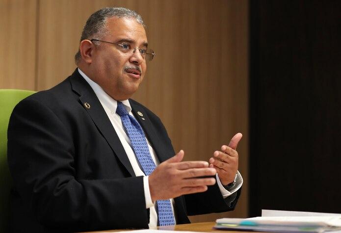 Rafael Rodríguez, secretario de Salud.