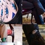 Las coloridas y peculiares medias de Ricardo Rosselló
