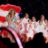 Poderosas JLo y Shakira en el Halftime Show del Super Bowl