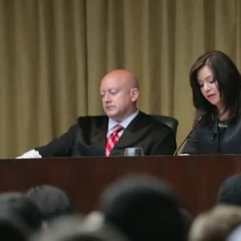 Jura Maite Oronoz como jueza del Tribunal Supremo